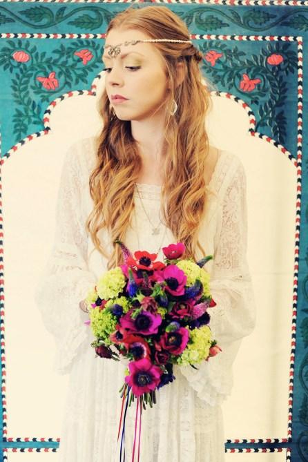 Clovelly House Devon wedding festival styled photo shoot blue fizz events
