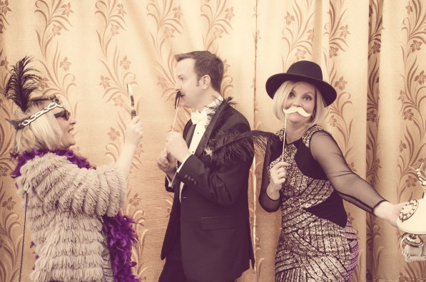 Charity Vintage photo booth - St Luke's Hospice Puttin on The Glitz Plymouth 18