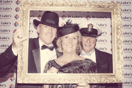Charity Vintage photo booth - St Luke's Hospice Puttin on The Glitz Plymouth 25