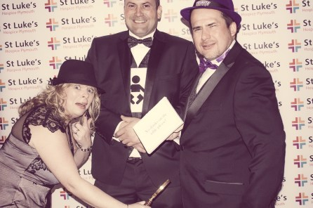 Charity Vintage photo booth - St Luke's Hospice Puttin on The Glitz Plymouth 33