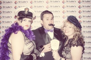 Charity Vintage photo booth - St Luke's Hospice Puttin on The Glitz Plymouth 45