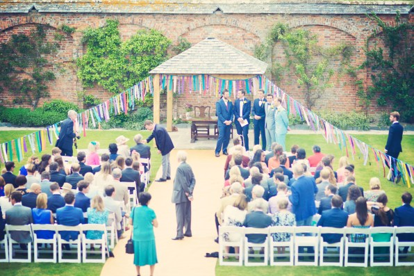 Englich country garden wedding at Kingston Estate Devon photographer 1