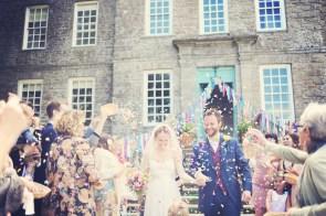 ENGLISH COUNTRY GARDEN WEDDING AT KINGSTON ESTATE DEVON