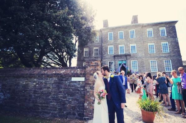 Englich country garden wedding at Kingston Estate Devon photographer 98