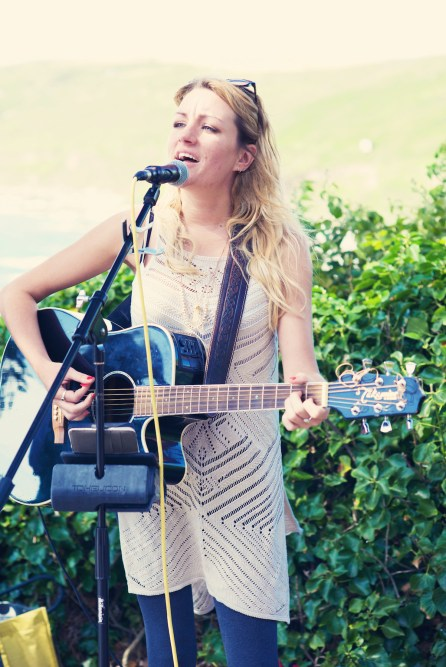 Jodie and Will wedding Polhawn Fort - Cornwall wedding photographer musician