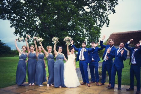 Liberty Pearl Devon wedding photographer The Oak Barn quirky vintage 13
