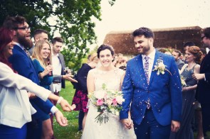 Liberty Pearl Devon wedding photographer The Oak Barn quirky vintage 20