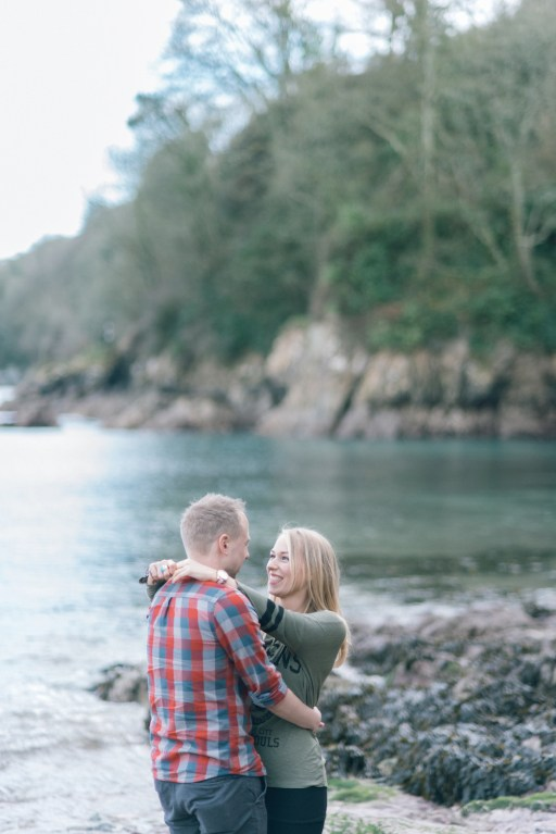pre wedding engagement shoot Kingsand Cawsand Cornwall wedding