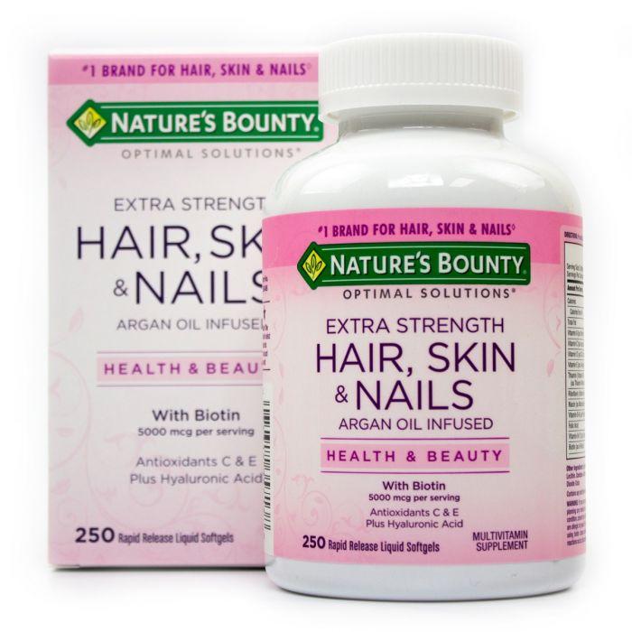 Nature's Bounty Hair, Skin and Nails, 250Ct