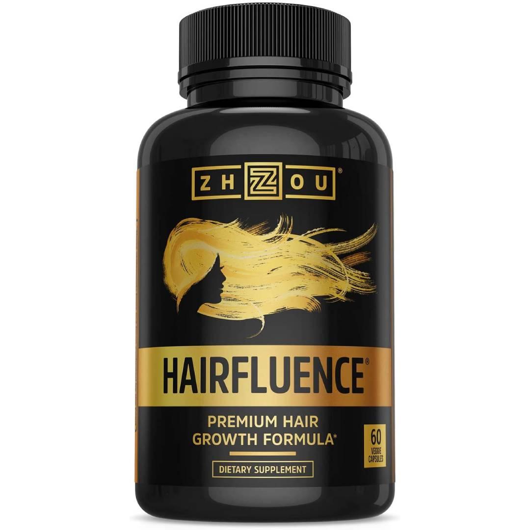 Hairfluence Premium Hair Growth Formula for Longer Stronger Healthier Hair