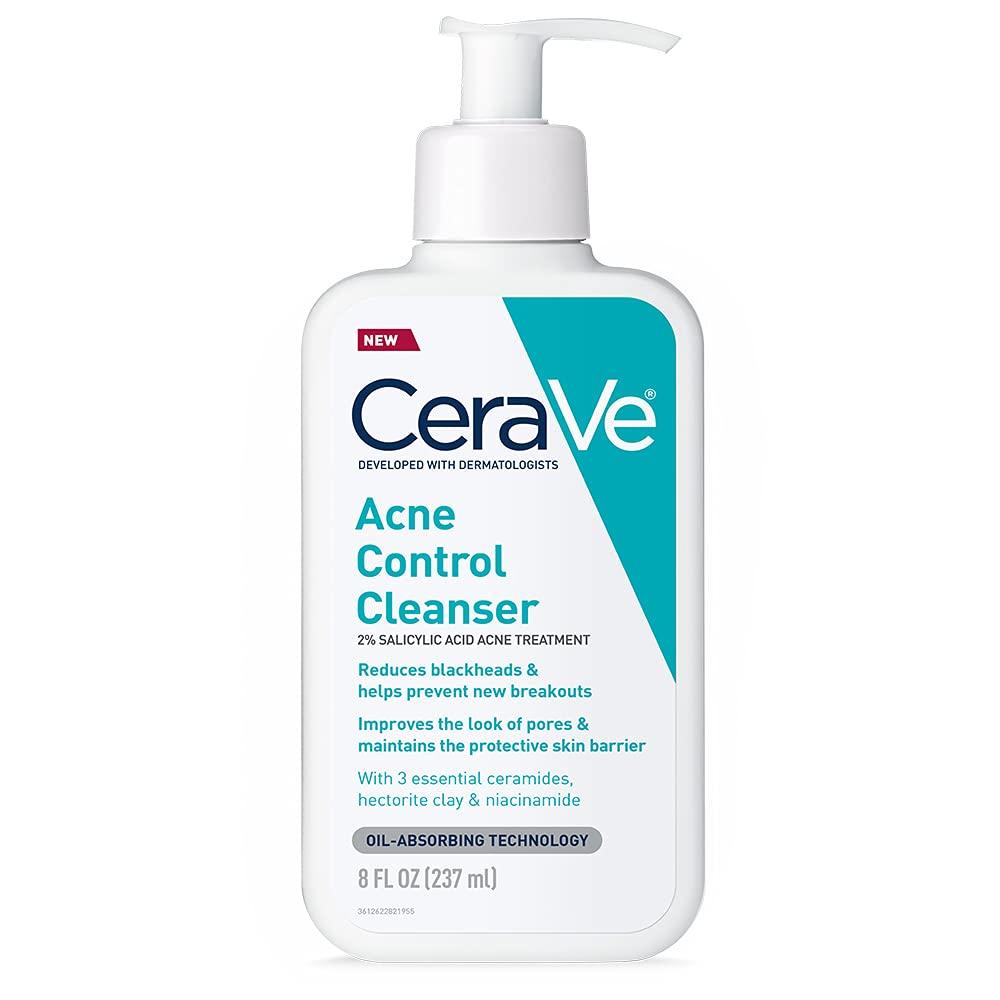 CeraVe Acne Control Cleanser with Salicylic Acid – 8 fl oz