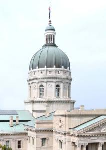 Indiana Capitol Building Dome