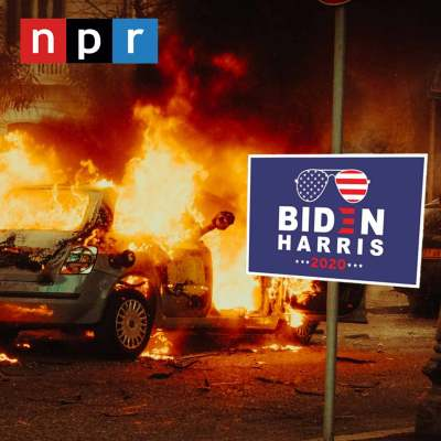 NPR Looting is Justified Because of White Supremacy FEATURED