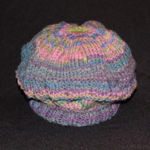 Lindageorge02s-handspun Handknit Wool Hat-
