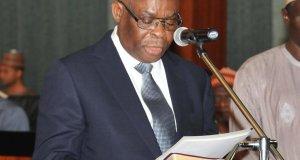 Walter Onnoghen, Chief Justice Of Nigeria