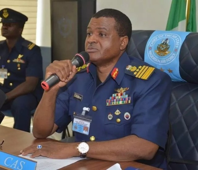Air Marshal Sadiq Abubakar, Chief of Air Staff