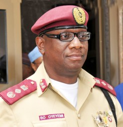Boboye Oyeyemi, Corps Marshal Federal Road Safety Corps, FRSC