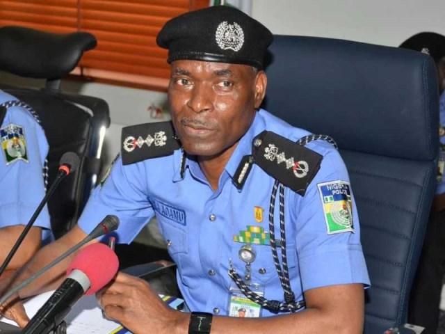 Mohammed Adamu, Inspector General Of Police, IGP