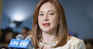 María Espinosa, President United Nations General Assembly