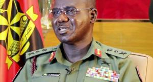 Luitenant General Tukur Buratai, Chief of Army Staff