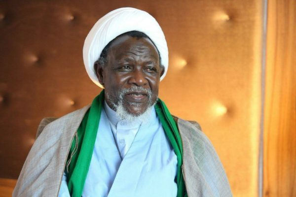 Ibrahim El-Zakzaky, leader Of The Islamic Movement Of Nigeria, IMN