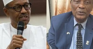 Buhari Congratulates Akinfeleye