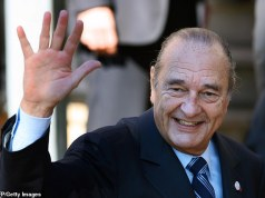 Former French President, Jacques Chirac