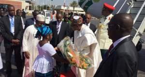 President Muhammadu Buhari Arrives Ouagadougou