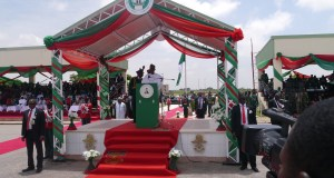 President Muhammadu Buhari, Speaking At The Combined Passing Out Parade Of Graduating Cadets Of 66 Regular Course Army, 67 Regular Course Navy And Air Force And Short Service Course 45 Army At The Nigerian Defence Academy NDA In Kaduna