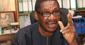 Itsey Sagay, Chairman Of The Presidential Advisory Committee Against Corruption, PACAC
