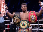 Anthony Joshua, World Heavyweight Boxing Champion