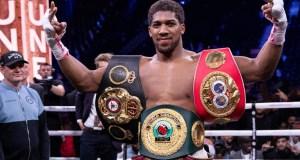 Anthony Joshua, World Heavyweight Boxing Champion