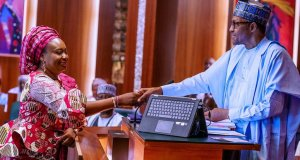 Buhari Swears-In Folasade Yemi-Esan As Substantive Head Of Service