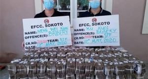EFCC Arrests Two Chinese For Bribery