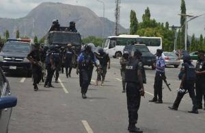 COVID-19: Kaduna Police Enforced Total Lockdown