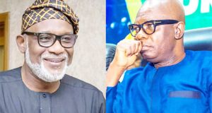 Akeredolu Stops Deputy From Leaving Govt House, Over Alleged Looting