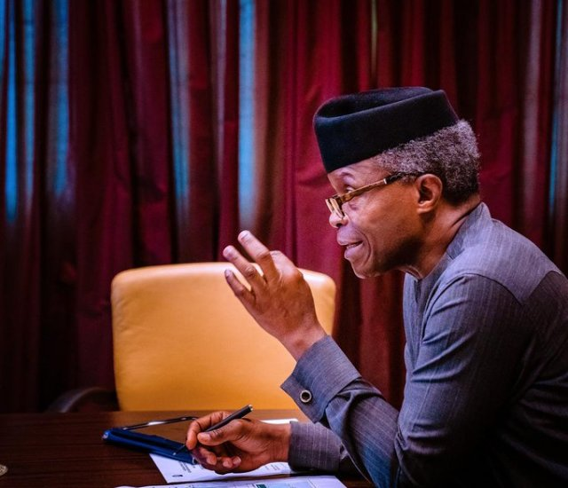 Osinbajo Calls For Synergy To Tackle Human Trafficking, Insecurity