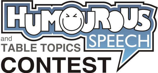 Humorous Speech and Table Topics Contest logo