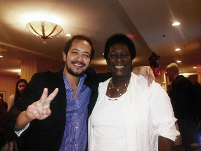 John and Area Governor Sandra