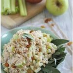 Honey chicken Salad with Apples and Sage from Running to the Kitchen