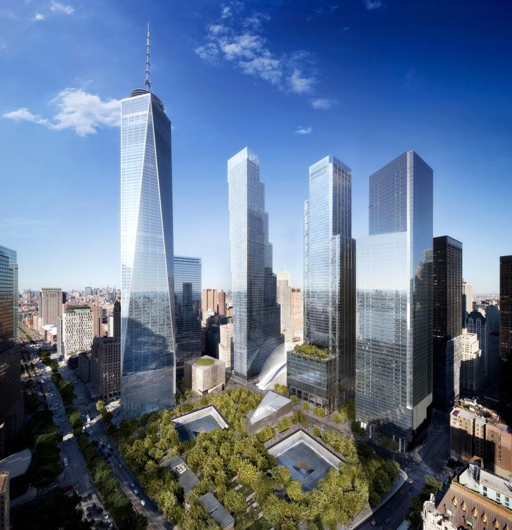 medium resolution of world trade center master plan
