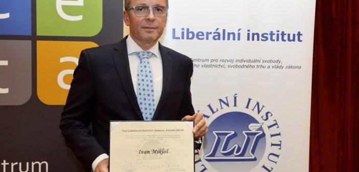 Výroční cena Liberálního institutu 2016 – Ivan Mikloš
