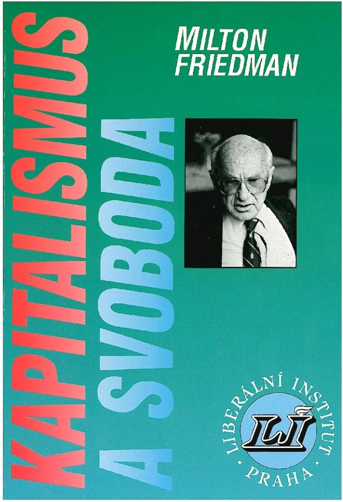 Book Cover: Friedman, M. (1962) Kapitalismus a svoboda