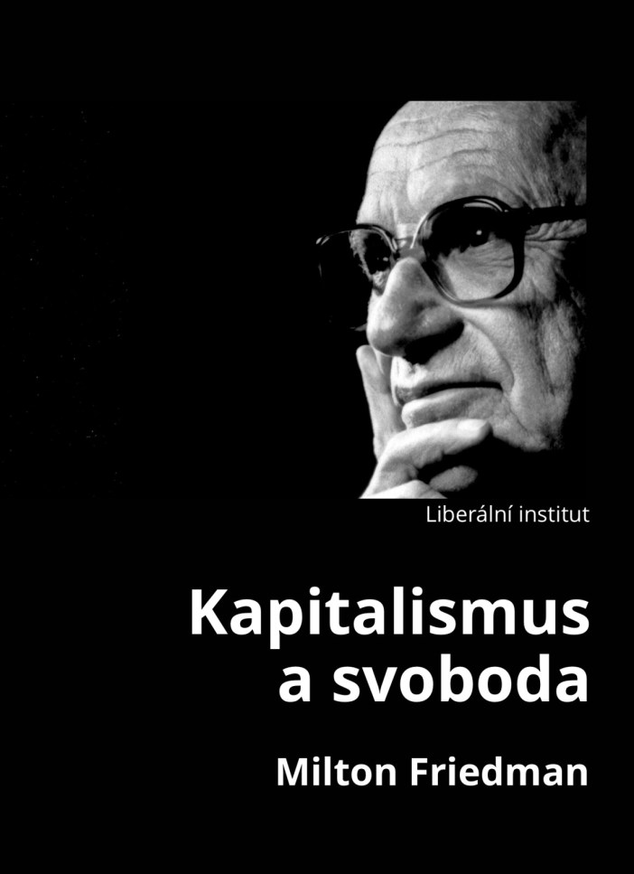 Book Cover: Friedman, M. (1962): Kapitalismus a svoboda