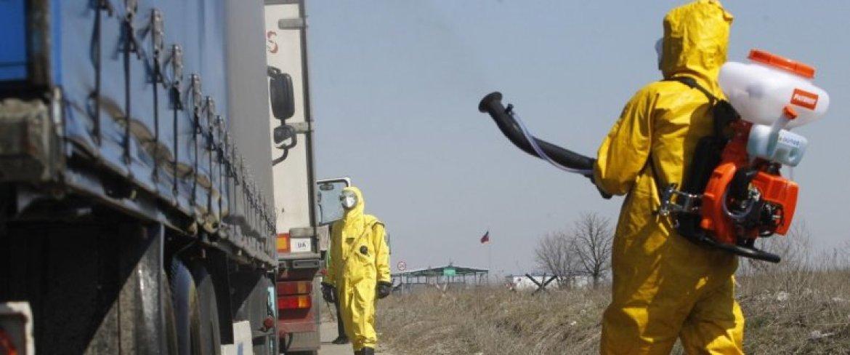Das Coronavirus gefährdet die Bevölkerung in den Volksrepubliken im Osten der Ukraine besonders. Nirgends sie die Menschen so alt wie dort. Nikolaus von Twickel berichtet für LibMod / Zentrum Liberale Moderne