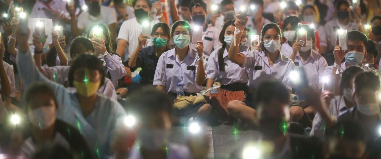 Proteste in Thailand Foto: Shutterstock kan Sangtong