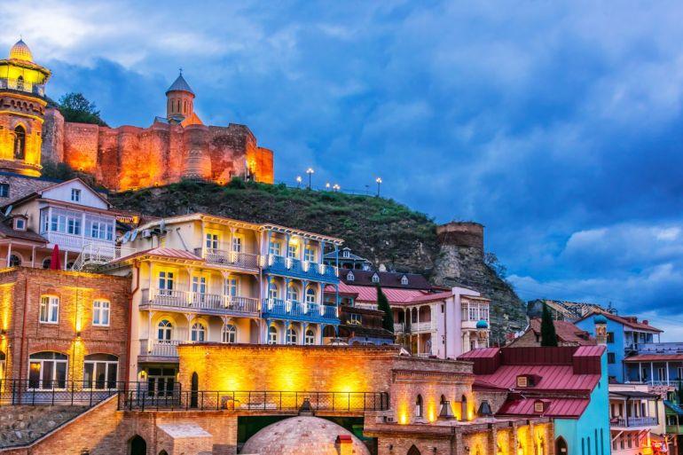 Altstadt von Tiflis, Georgien. Foto: Shutterstock, monticello