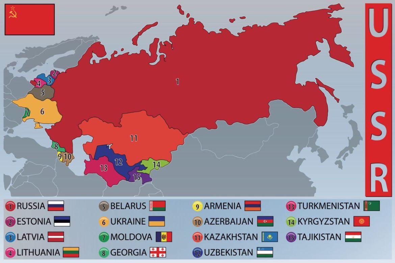 Die Staaten der früheren Sowjetunion