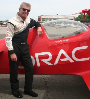 """SEAN TUCKER: """"Flying is about challenging yourself and pushing your boundaries."""""""