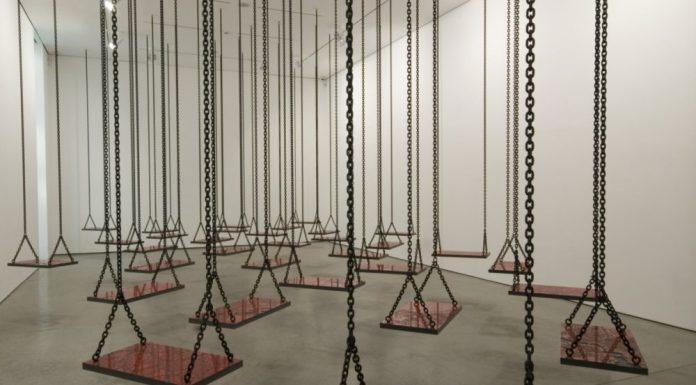 Photo : Installation de Mona Hatoum, 2009-2011